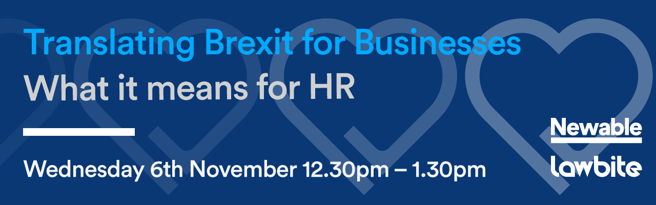 Translating Brexit for Businesses - What it means for HR
