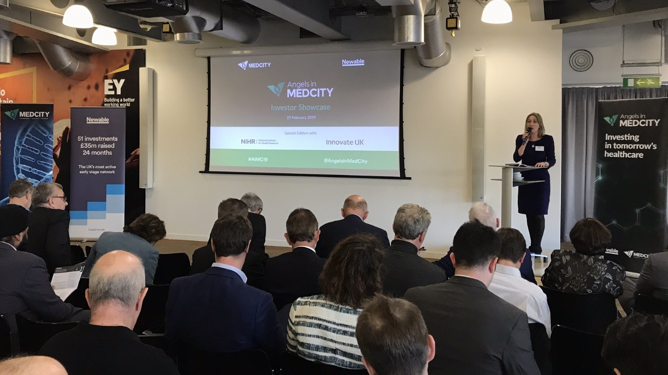 Innovate UK and NIHR's first collaboration with Angels in MedCity: A winning formula
