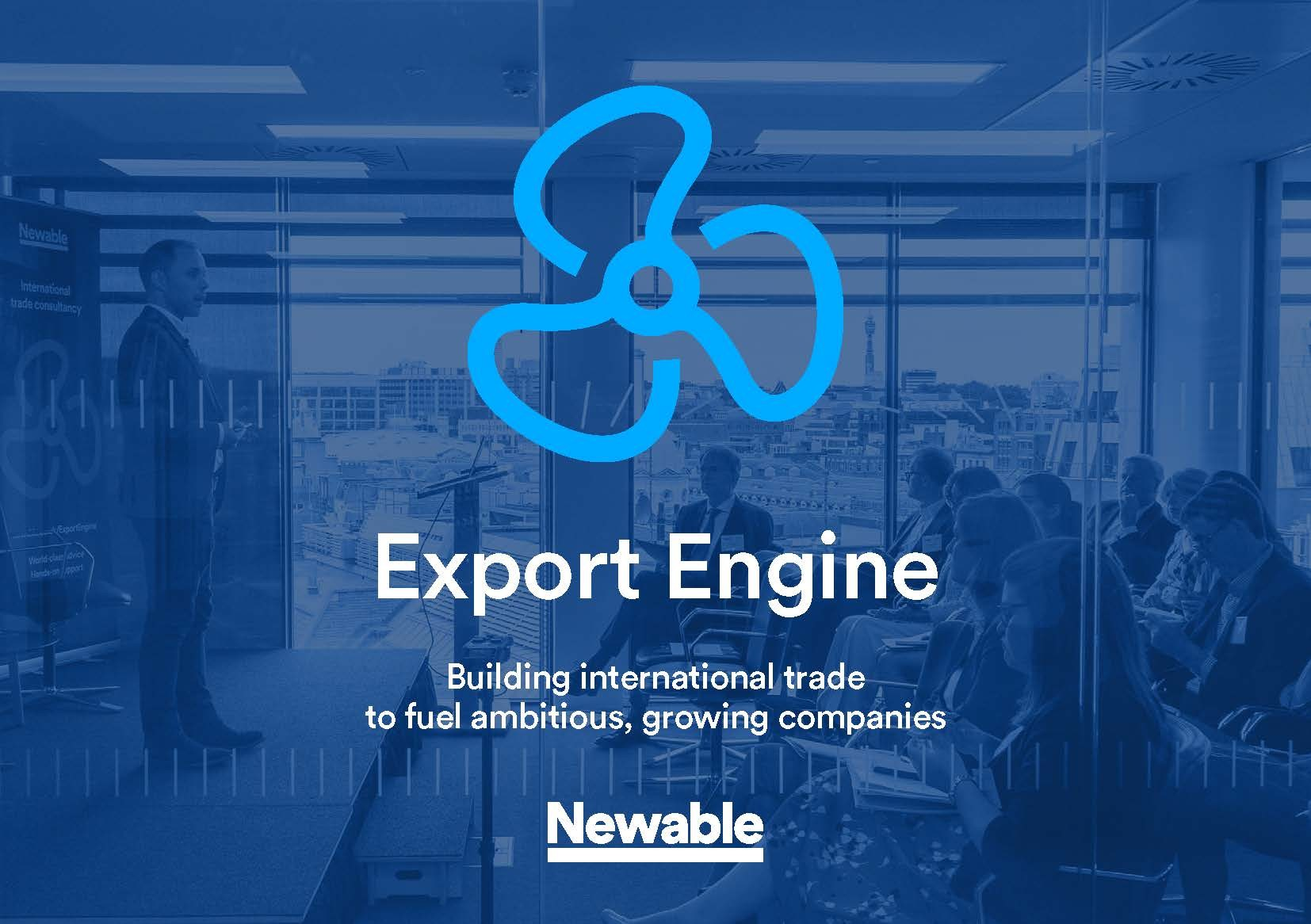 Export Engine Revs Up